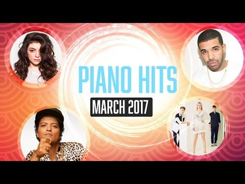 Piano Hits March 2017 (Pandapiano) : 1hr of Relaxing Chart hits for study, meditation…
