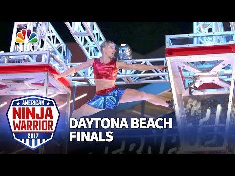 Jessie Graff at the Daytona Beach City Finals – American Ninja Warrior 2017