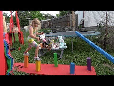 when she's the Tie-Dye Ninja at the National Finals: Stage 3 – Lylah Ninja Warrior 2017