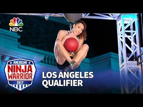Zhanique Lovett at the Los Angeles Qualifiers – American Ninja Warrior 2017
